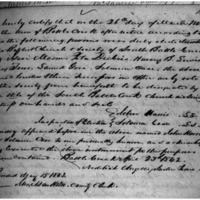 Baptist Church and Society of South Battle Creek Articles of Incorporation