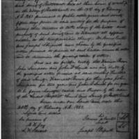 Second Baptist Church and Society of Battle Creek Articles of Incorporation