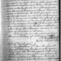 First Baptist Church and Society of Athens Articles of Incorporation
